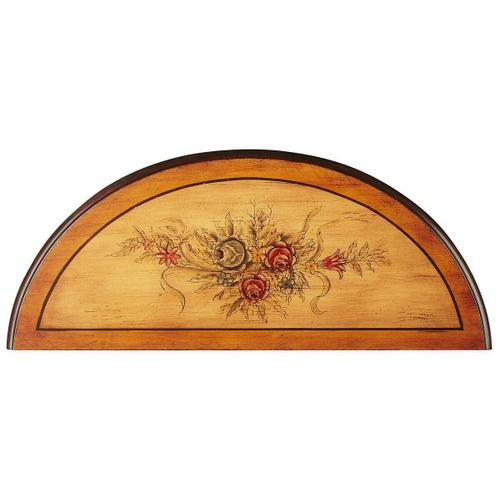 Butler Specialty Company - Unique hand painted design on hardwood frame. Drawer with wood knob.