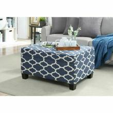 ACME Ganya Bench w/Storage - 96437 - Fabric Pattern