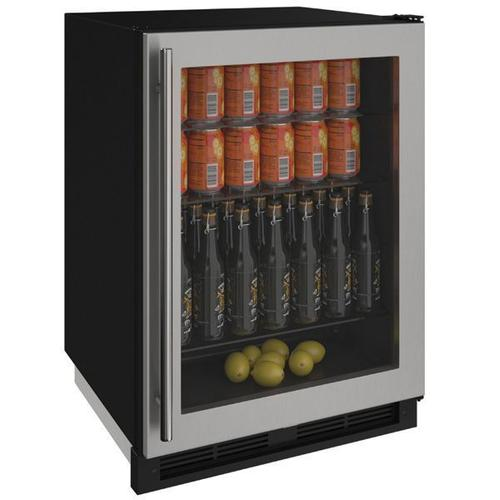 "1224rgl 24"" Refrigerator With Stainless Frame Finish (115 V/60 Hz Volts /60 Hz Hz)"