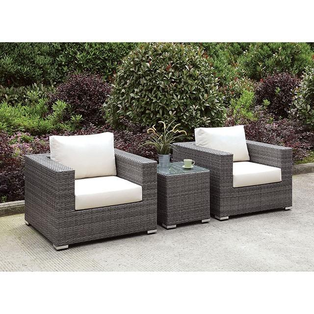 Somani 2 ChairS + End Table
