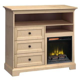 FT46H Extra Tall Fireplace Custom TV Console