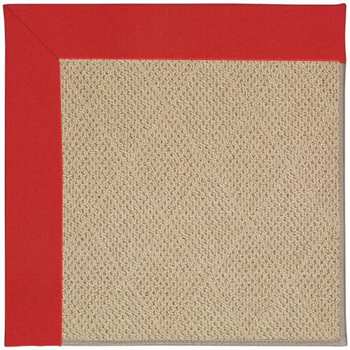 """Creative Concepts-Cane Wicker Canvas Jockey Red - Rectangle - 24"""" x 36"""""""