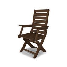 View Product - Captain Dining Chair in Mahogany