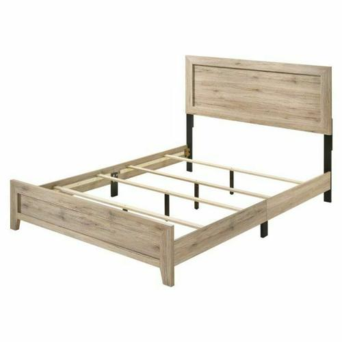 ACME Miquell Eastern King Bed - 28037EK - Natural