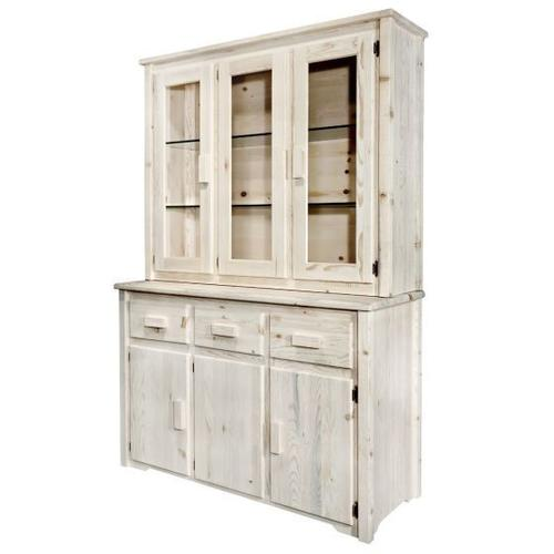 Montana Woodworks - Homestead Collection China Hutch with Sideboard