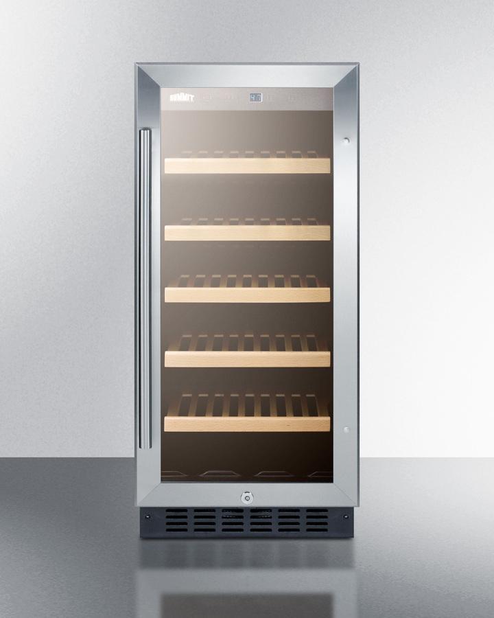 "Summit15"" Wide Built-In Wine Cellar, Ada Compliant"