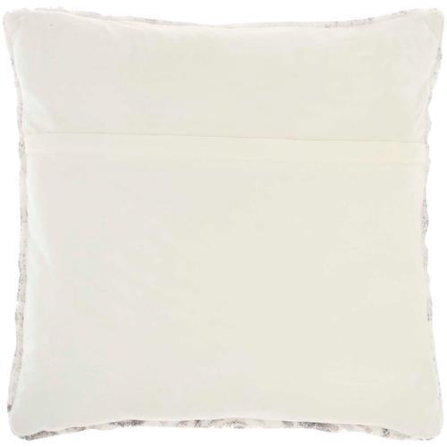 """Life Styles Bj400 Grey 20"""" X 20"""" Throw Pillow"""