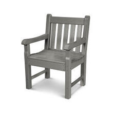 View Product - Rockford Garden Arm Chair in Slate Grey