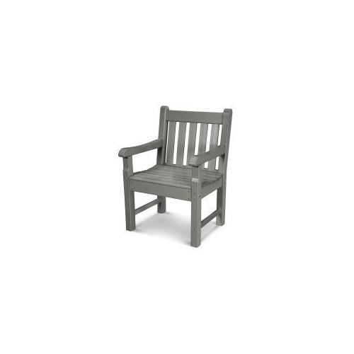 Polywood Furnishings - Rockford Garden Arm Chair in Slate Grey