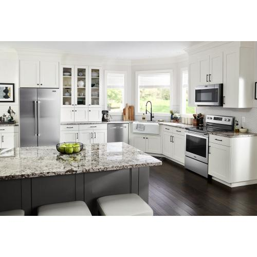 Gallery - 30-Inch Wide Electric Range With Shatter-Resistant Cooktop - 5.3 Cu. Ft.
