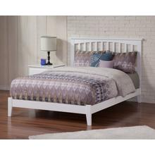 Mission Queen Bed in White