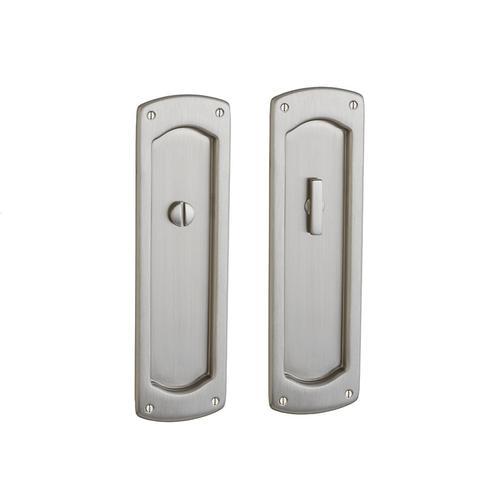 Baldwin - Satin Nickel PD007 Palo Alto Pocket Door