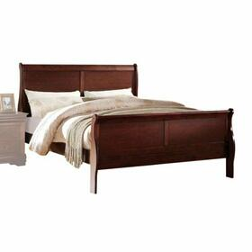 ACME Louis Philippe Eastern King Bed - 23747EK - Cherry