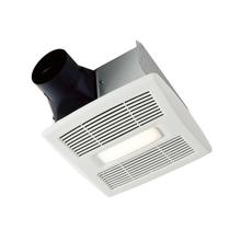 Broan Flex Series 110 CFM 1.0 Sones Humidity Sensing Ventilation Fan Light Energy Star®