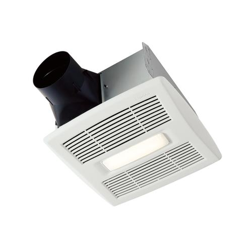 Broan Flex Series 80 CFM 0.7 Sones Humidity Sensing Ventilation Fan Light Energy Star®