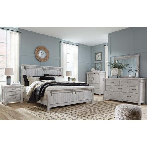Brashland Bedroom Mirror White