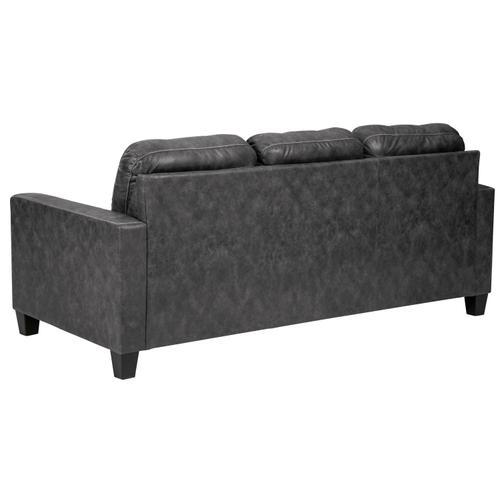 Venaldi Sofa Chaise Gunmetal