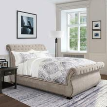 CLAIRE - KHAKI Queen Bed 5/0