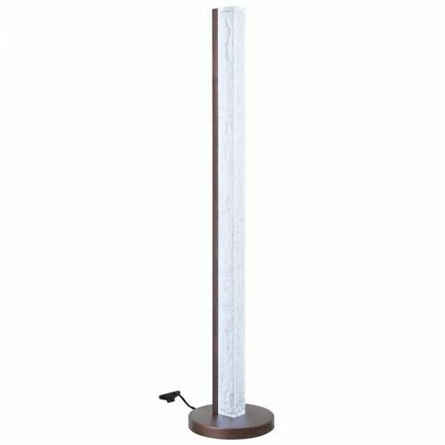 ACME Vreni Floor Lamp - 40365 - Modern - Light, Resin, Metal - Clear and Brown