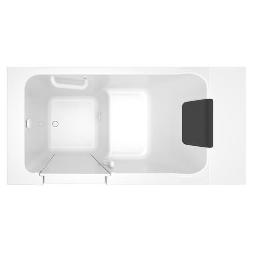American Standard - Acrylic Luxury Series 30x51 Left Drain Walk-in Bathtub with Air Spa System  American Standard - White