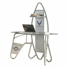 ACME Aeronautic Desk, Silver - 92015