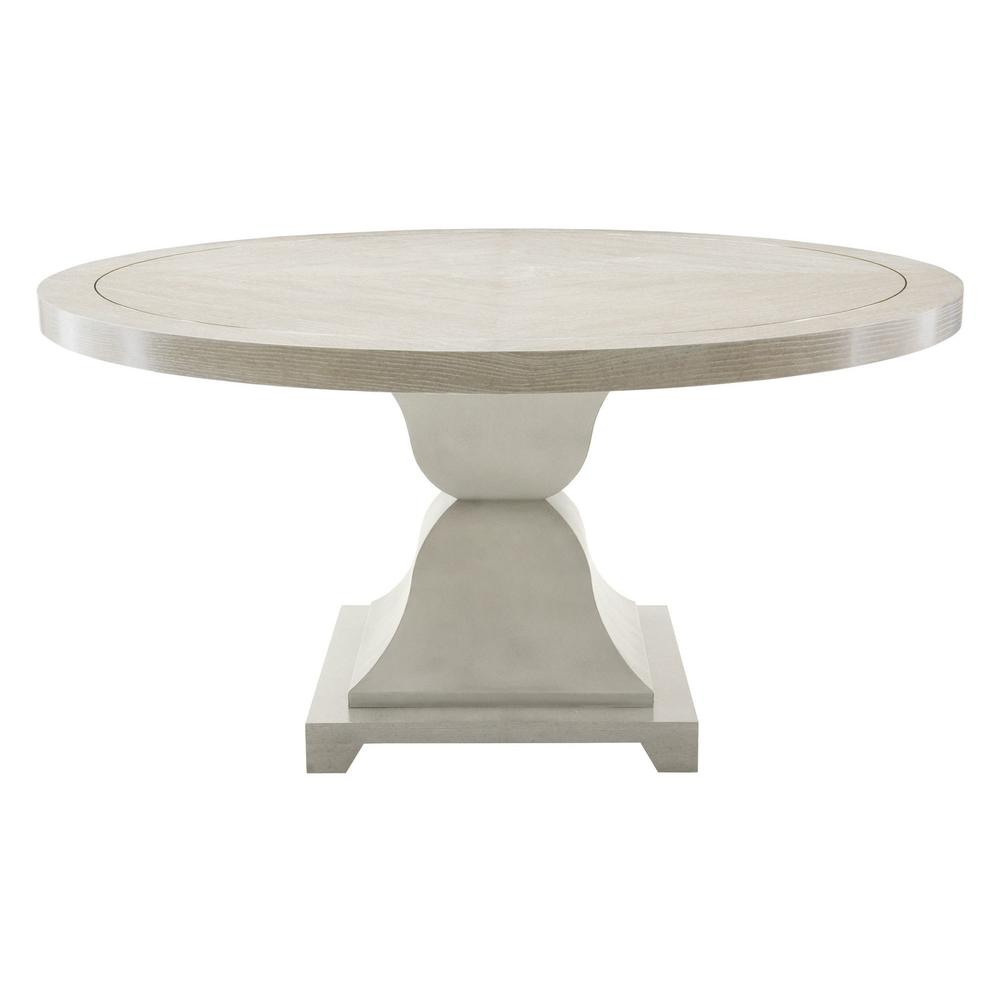 Criteria Round Dining Table in Heather Gray (363)