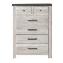 See Details - 6 Drawer Chest in Riverwood Brown