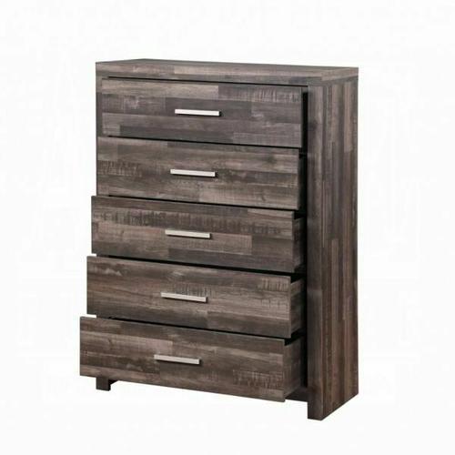 ACME Juniper Chest - 22166 - Transitional, Rustic - Wood (Solid Pine), Veneer (Melamine/Paper), MDF - Dark Cherry