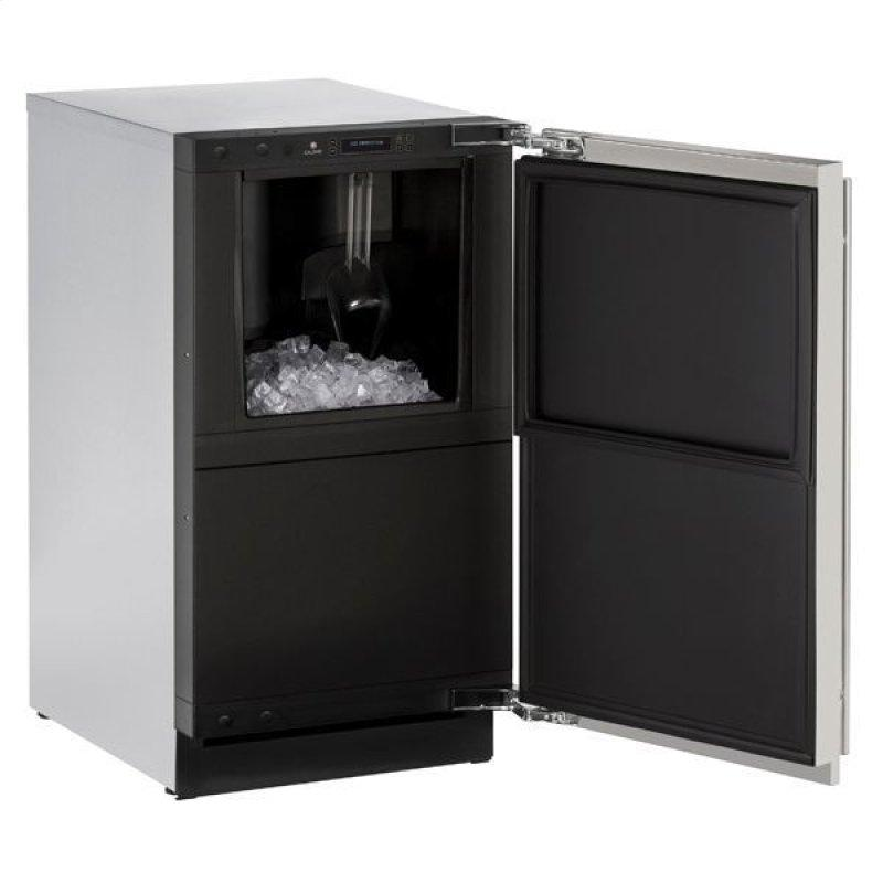 """3018clr 18"""" Clear Ice Machine With Stainless Solid Finish, No (115 V/60 Hz Volts /60 Hz Hz)"""