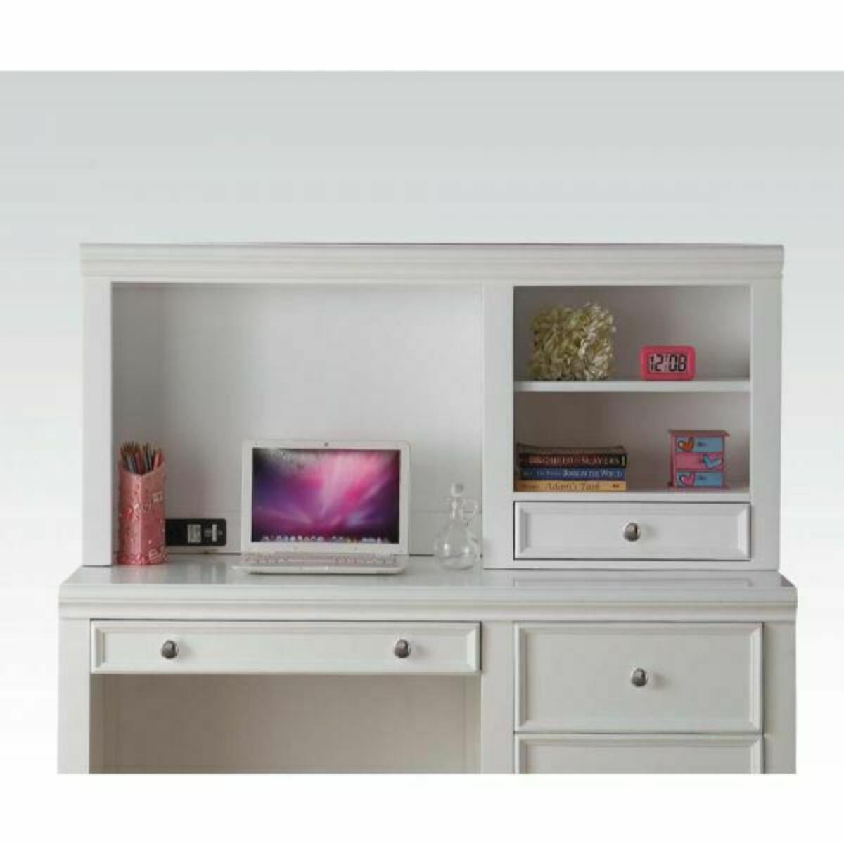 ACME Lacey Computer Hutch - 30606 - White