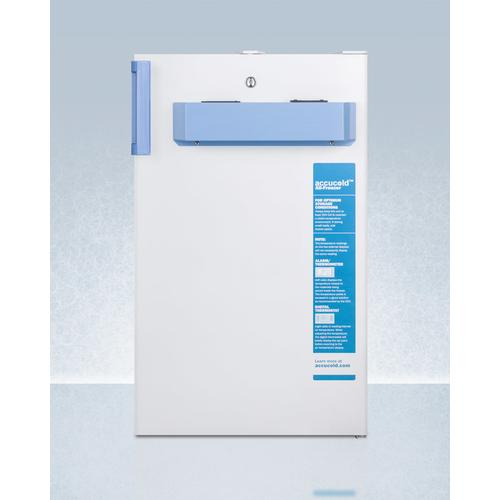 Built-in Undercounter Medical/scientific All-freezer In ADA Height, With Front Control Panel Equipped With A Digital Thermostat and Nist Calibrated Thermometer/alarm