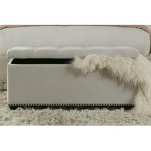 See Details - CASEY - LACE Storage Bench