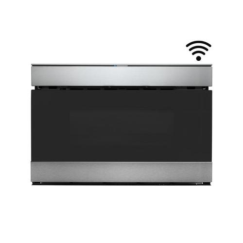 """Sharp 24"""" IoT Microwave Drawer Oven with Sharp Kitchen App & Easy Wave Open - Stainless Steel"""