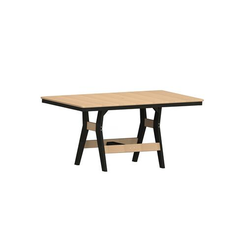 "Harbor 33"" x 66"" Rectangular Table - Counter"