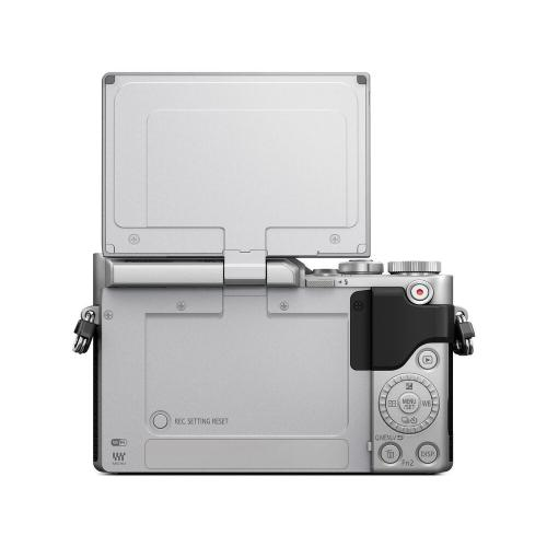 LUMIX GX850 4K Mirrorless ILC Camera, 12-32mm Mega O.I.S. lens kit, 16 Megapixels, 4K 30p Video, 4K PHOTO, WiFi - DMC-GX850KS - SILVER