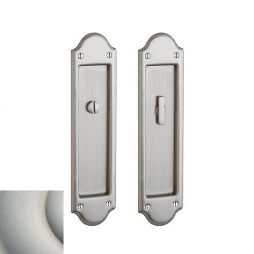 Baldwin - Satin Nickel with Lifetime Finish PD016 Boulder Pocket Door