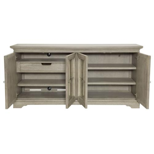 Marquesa Buffet in Gray Cashmere (359)