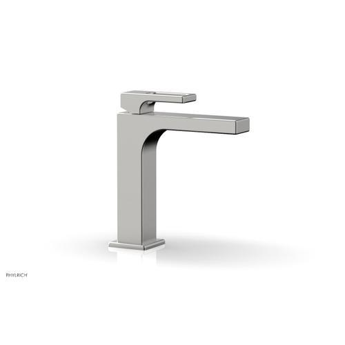 MIX Single Hole Lavatory Faucet, Ring Handle 290-07 - Satin Chrome