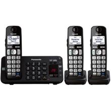 Expandable Cordless Phone with Enhanced Noise Reduction- 3 Handsets