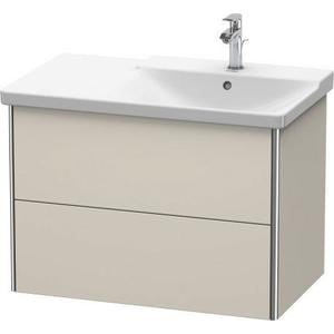 Product Image - Vanity Unit Wall-mounted, Taupe Matte (decor)