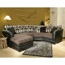 Rio (Leather) Sofa Chaise
