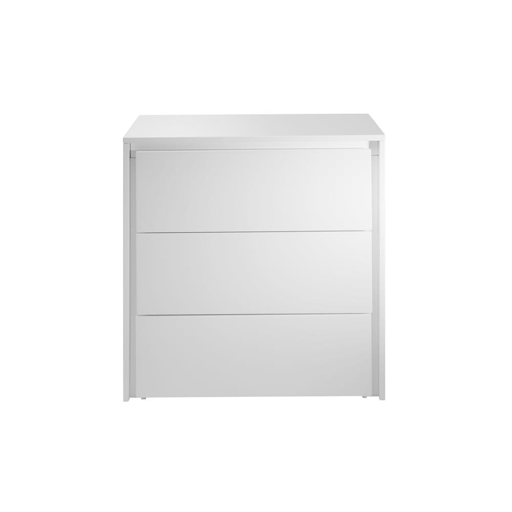 The Zen High Gloss White Lacquer Dressers