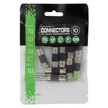 RG6Q F Compression Connector - 10 Pack