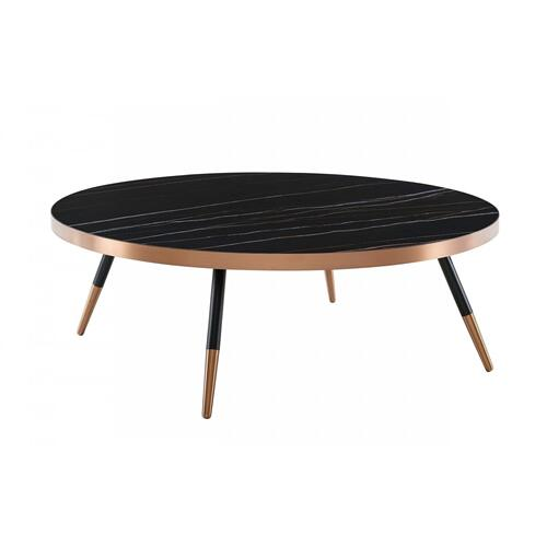 VIG Furniture - Modrest Cayson - Modern Black Ceramic Coffee Table