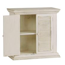 Accent Cabinet - Antique White Finish