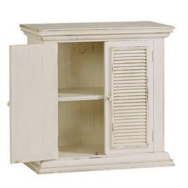 Accent Cabinet - Antique White Finish