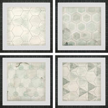 Hexagon Tiles S/4