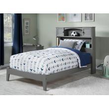 Newport Twin Bed in Atlantic Grey