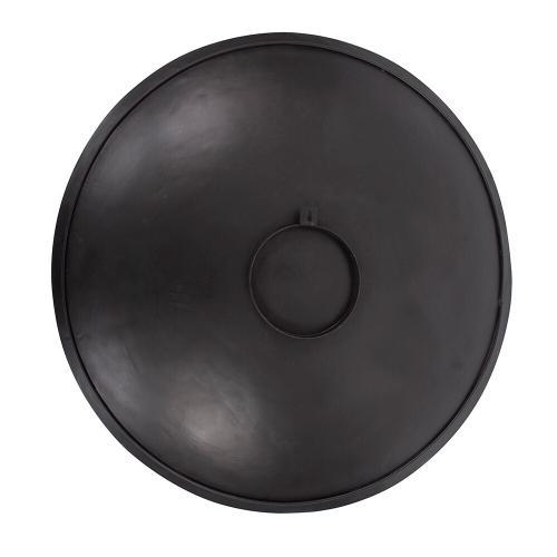 Howard Elliott - Mottled Bronze Iron Disc Wall Art, Large
