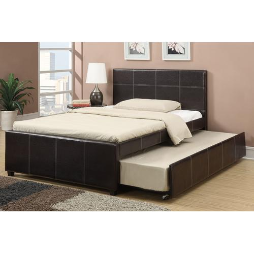 Poundex - Twin Size Bed W/trundle